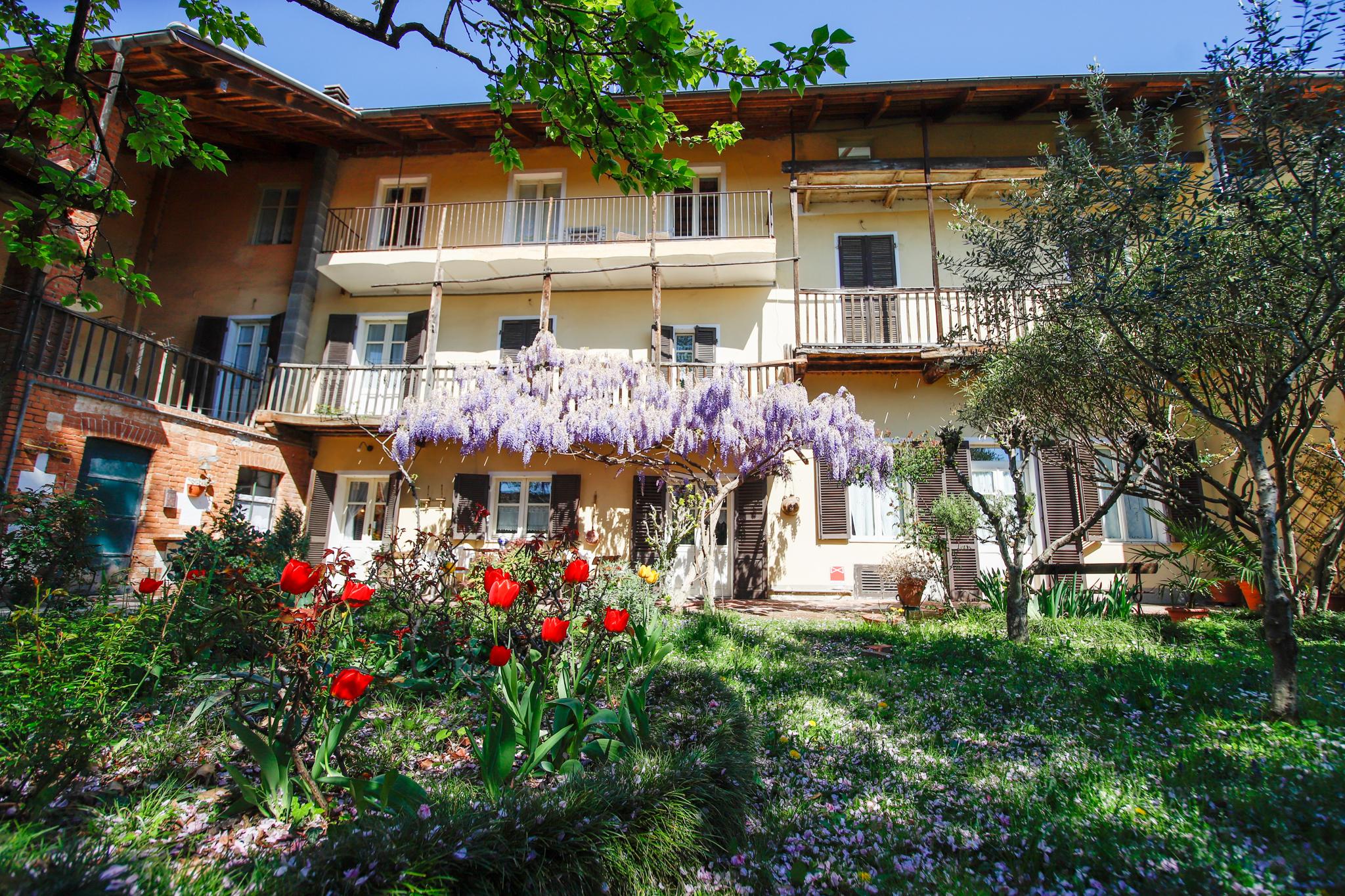 Villa centro Caluso